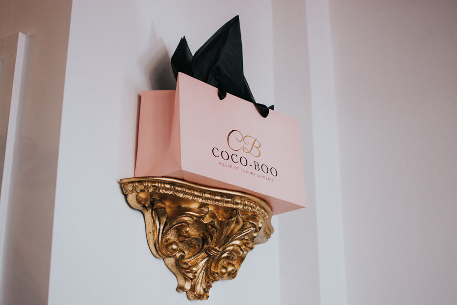 pink Coco Boo gift bag
