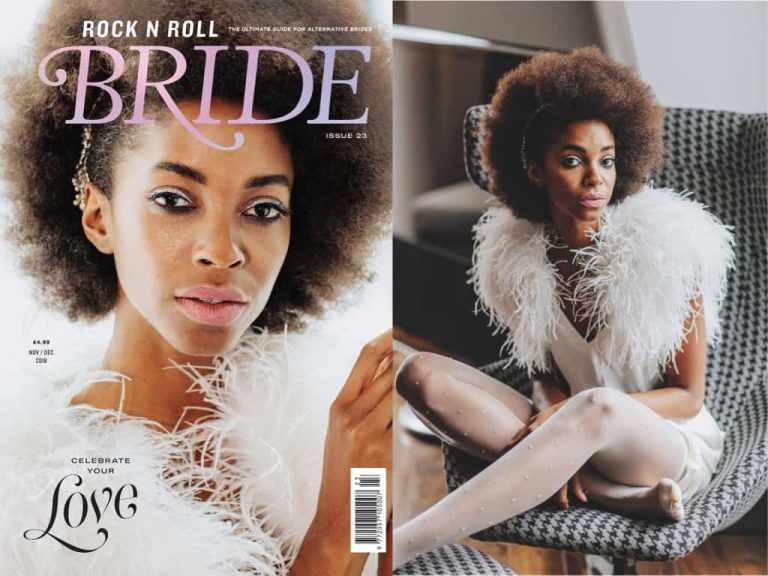 Editorial: Rock n Roll Bride magazine November/December 2018