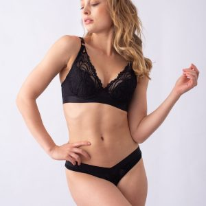 'Warrior' Plunge Contour Nursing Bra