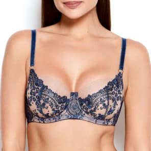 'Abrielle' Embroidered Bra