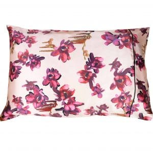 Silk Pillowcase in Catkin print