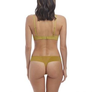 'Decadence' Gold Plunge Push Up