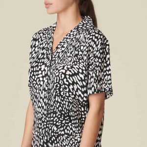 Loungewear Short Sleeve Shirt